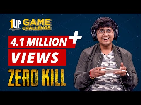 Zero Kill Challenge with MortaL | 1Up Game Challenge | PUBG Mobile