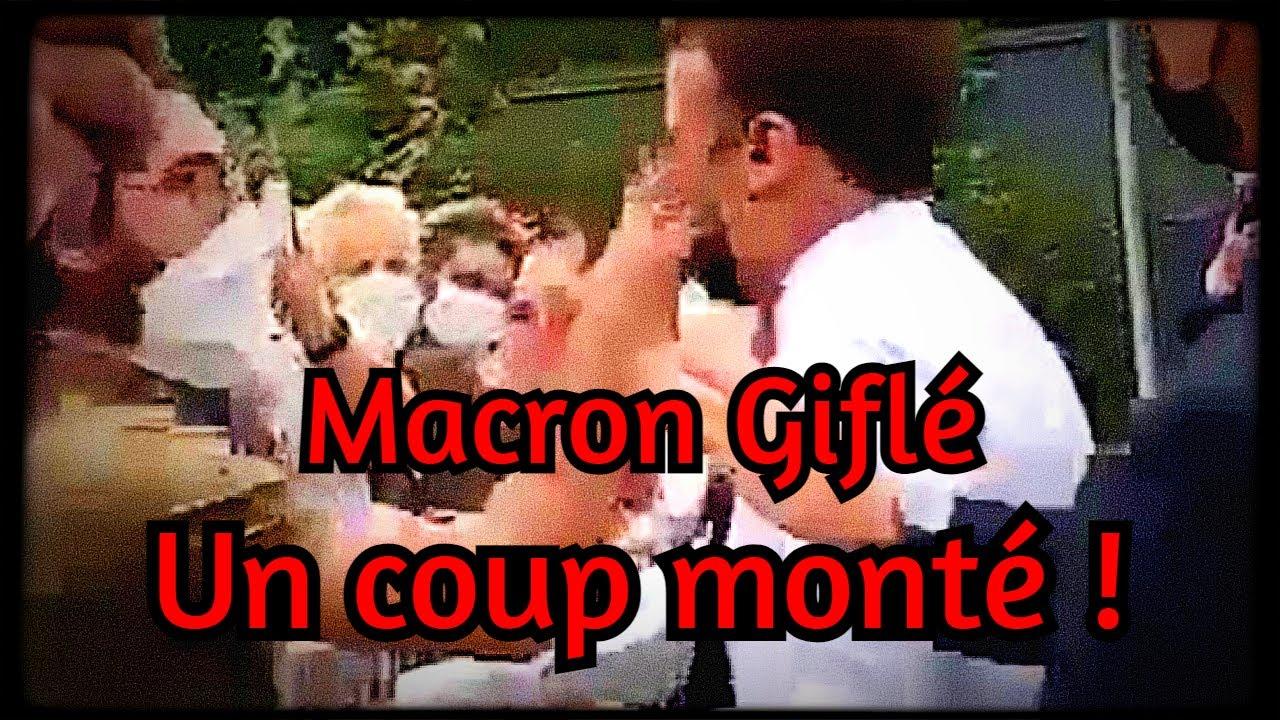 """Macron giflé : Un coup monté contre les """"Complotistes""""/Royalistes"""