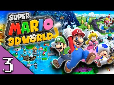 Super Mario 3D World Ep  3: Toad-ally - YouTube