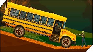 ШКОЛЬНЫЙ АВТОБУС против ЗОМБИ - Earn to Die # 6 Видео для детей как мультик.