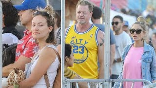 Olivia Wilde And Jason Sudeikis Bump Into Rebecca Gayheart And Eric Dane At The Malibu Carnival