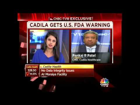 Cadila Heath Recieves Warning Letter From USFDA, Mgmt Clarifies