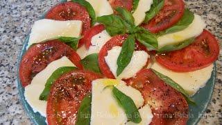 Салат Капрезе, простые рецепты