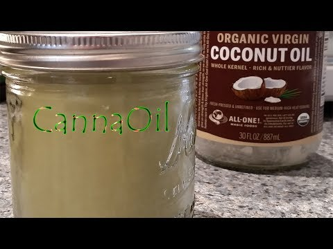 Cannabis Infused Coconut Oil Using Slow Cooker!