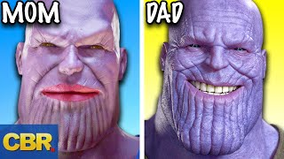 The Little Known Backstory Of Thanos From Marvel