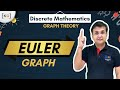 Part-15 | euler graph in hindi euler graph example proof graph theory  history euler circuit path