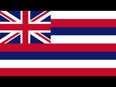 Bandera e Himno de Hawái (Estados Unidos) - Flag and Anthem of Hawaii (United Estates)