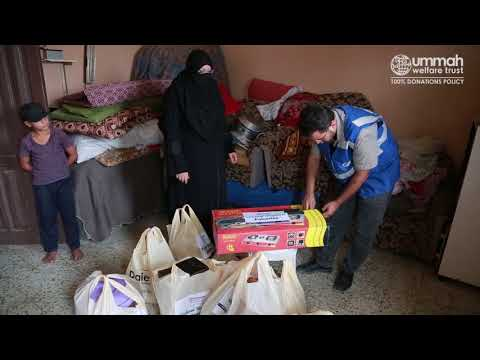 Household Assistance for Gaza's Widows
