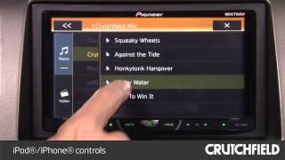 Pioneer AVH-X4600BT Display and Controls Demo | Crutchfield Video