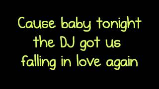 DJ Got Us Falling in Love - Usher Lyrics ft. Pitbull