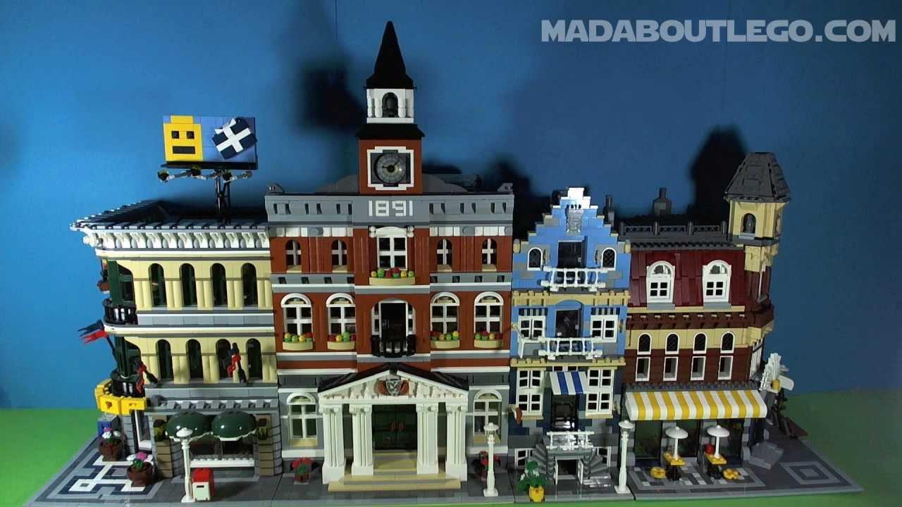 Lego Town Hall 10224 Youtube