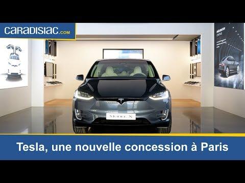 Tesla: une nouvelle concession à Paris