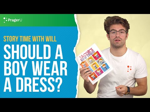 Story Time With Will: Should A Boy Wear A Dress?
