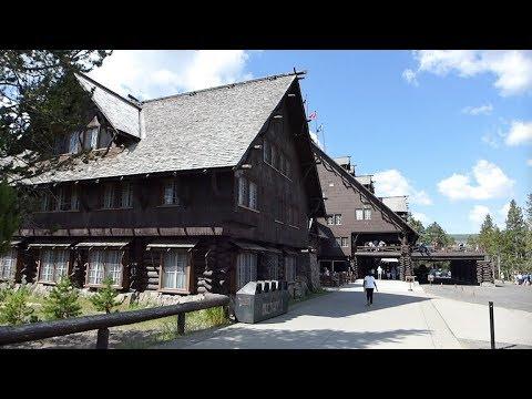 Yellowstone National Park - Old Faithful Inn - Full Tour (2018)