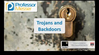 Trojans and Backdoors - CompTIA Security+ SY0-401: 3.1