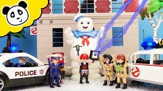 Playmobil Polizei - Ghostbusters Ausrüstung geklaut! Playmobil Film