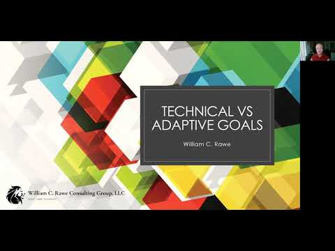 Technical vs Adaptive Goals