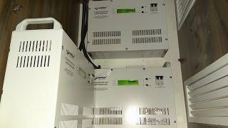 видео Стабилизатор напряжения Volter-2000
