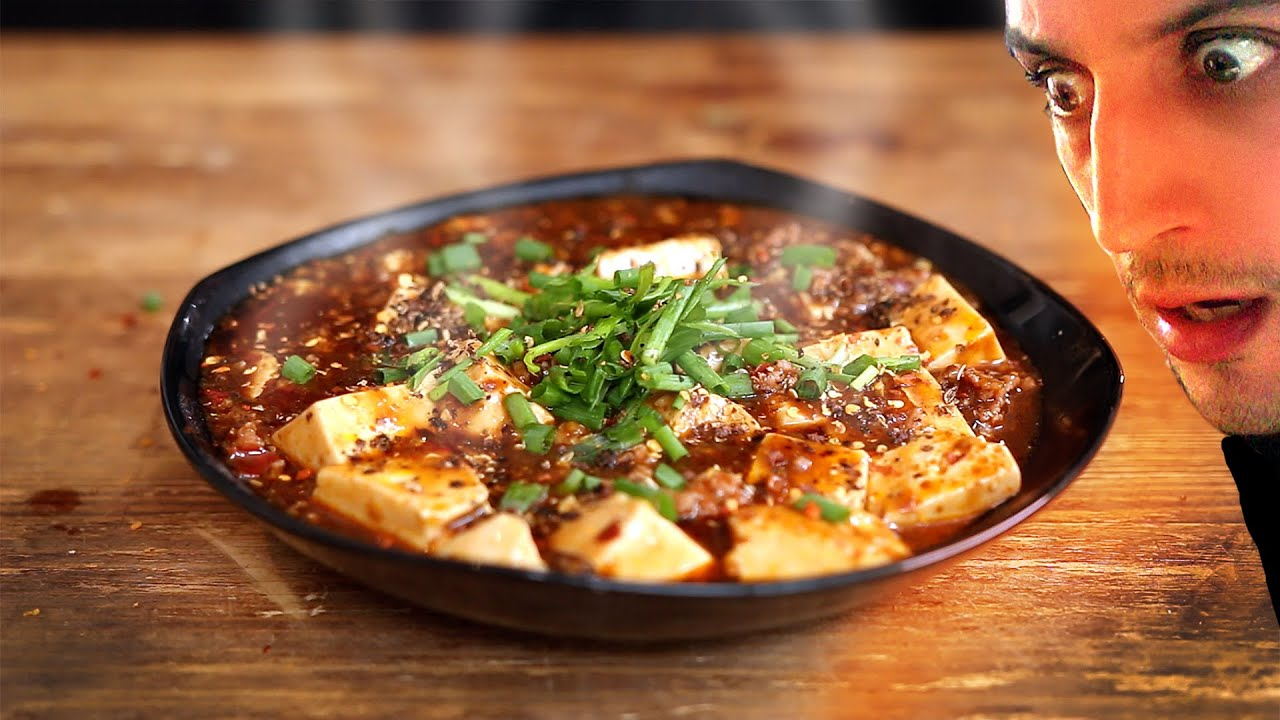 Easy  Spicy Chinese Mapo Tofu ! 麻婆豆腐 ( Hot warning )YouTube