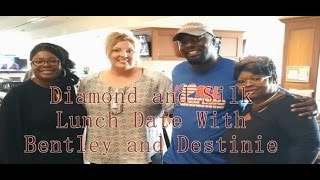 Diamond and Silk Lunch Date With Bentley and Destinie