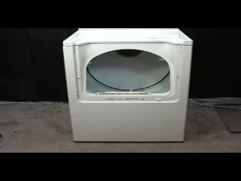 El panel frontal en una secadora Maytag - YouTube fbf920ad1d83