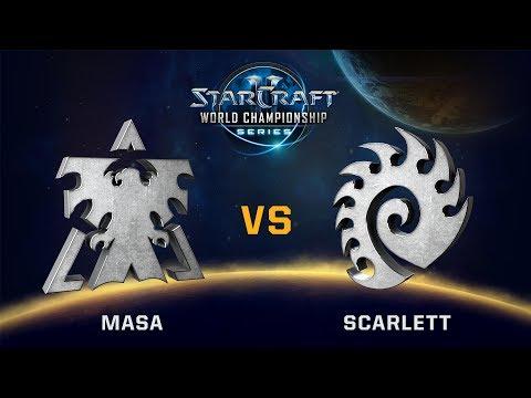 StarCraft 2 - MaSa vs. Scarlett (TvZ) - WCS Valencia Challenger NA - Playoff Grand Finals