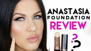 Anastasia beverly hills foundation for oily skin!? | first impression & review!!