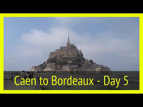 Anniversary Trip Day 5 - Caen, Mont Saint-Michel and Bordeaux, France ~ Vlog