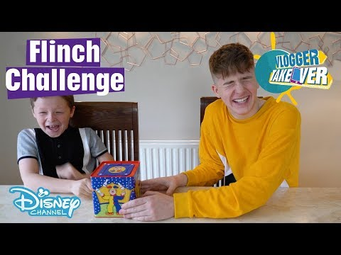 Vlogger Takeover | Try Not To Flinch Challenge ft. Adam & Callum