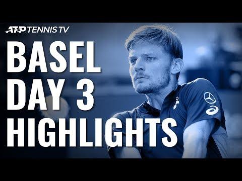 Federer, Wawrinka Delight At Home; Goffin, De Minaur Impress | Basel 2019 Highlights Day 3