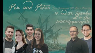 Pen and Peter: Für Rum und Ehre | 1/2 | Pen and Paper mit Hauke Gerdes, Gino Singh und Mháire