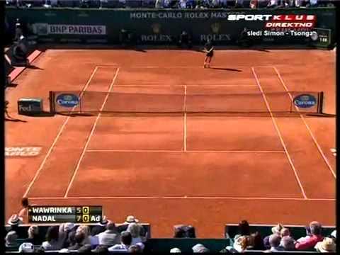 Rafael Nadal vs Stanislas Wawrinka - ATP Monte Carlo 2012 Highlights