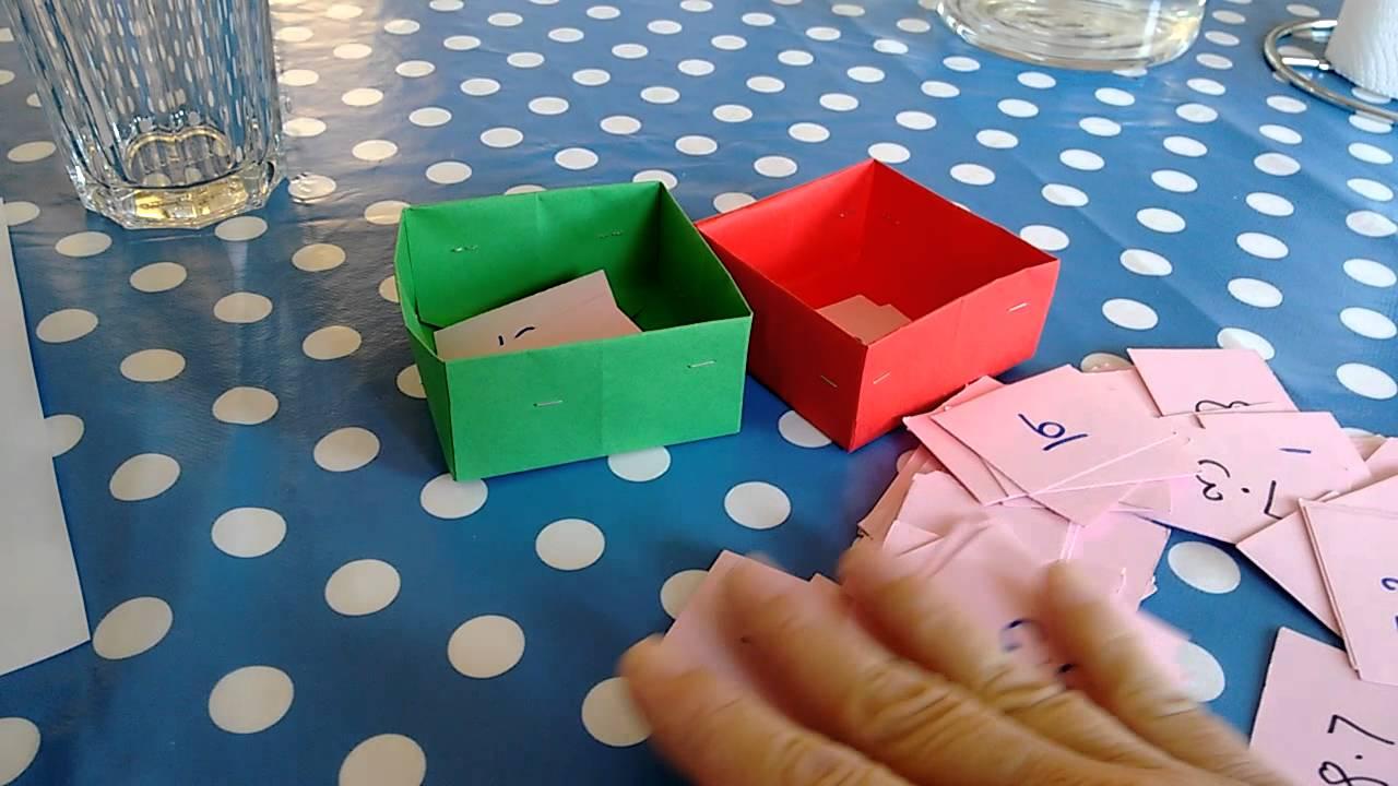 Træning af lille tabel