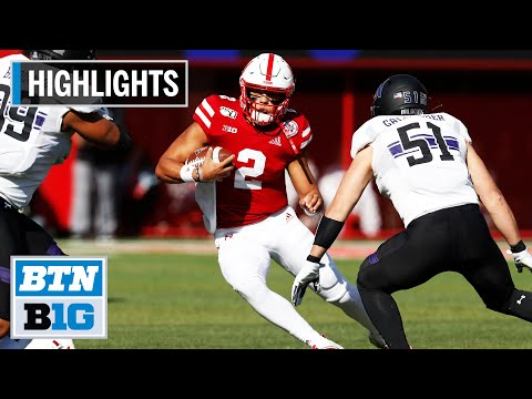 Highlights: Huskers Edge Wildcats on Last-Second FG | Northw
