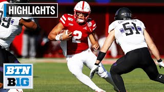 Highlights: Huskers Edge Wildcats on Last-Second FG Northwestern at Nebraska Oct. 5, 2019