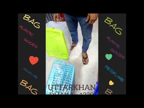 PLASTIC GOODS, PERFUME, BAG, ORNAMENT MARKET OF UTTARKHAN