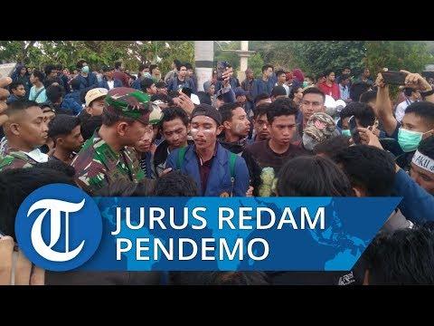 Jurus Jitu Danrem 162/WB Redam Aksi Anarkis Para Pendemo di Gedung DPRD NTB