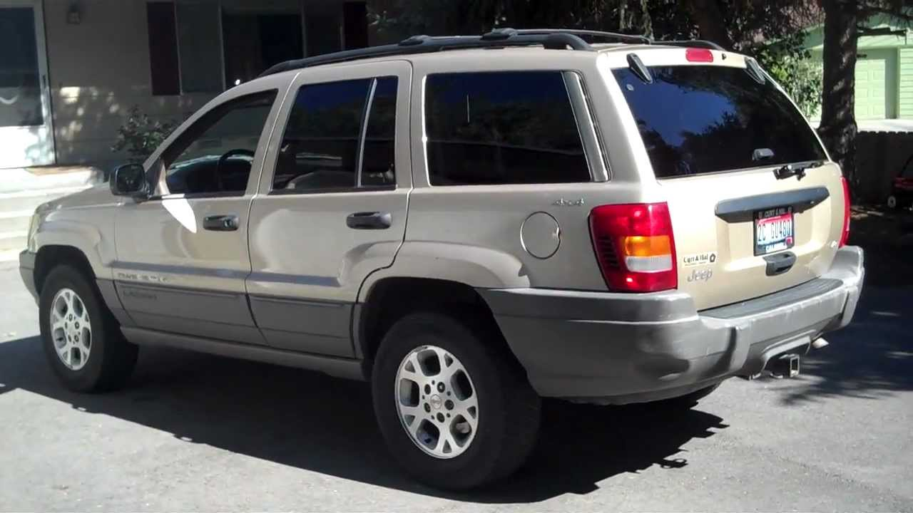 2000 Jeep Grand Cherokee V8 Laredo For Sale 4x4 Boise $3999   YouTube