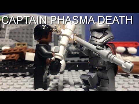 LEGO STAR WARS THE LAST JEDI CAPTAIN PHASMA DEATH / FINN VS CAPTAIN PHASMA