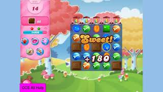 Candy Crush Saga Level 3151 30 moves NO BOOSTERS
