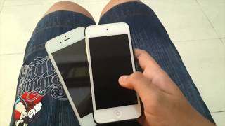 Replica iPhone 5S vs iPod touch 5gen: witch is faster?