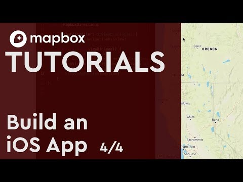 Build an iOS App: (4/4) Show Callout View + Enable Turn-by-Turn Directions  w/ Mapbox Navigation SDK