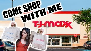 COME SHOPPING WITH ME AT TJMAXX SHOPAHOLIC !!