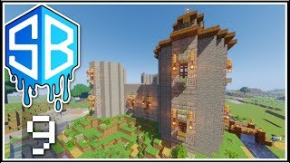 Minecraft - YOU NEED TO CRACK THOSE WALLS -  Ep.9 - SOURCEBLOCK SMP ( Lets Play )