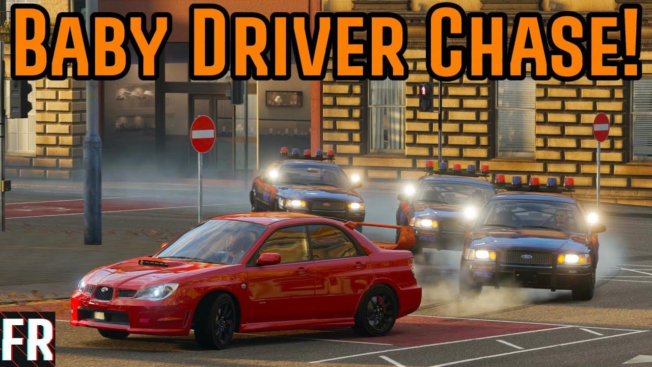Baby Driver Chase! - Forza Horizon 4 thumbnail
