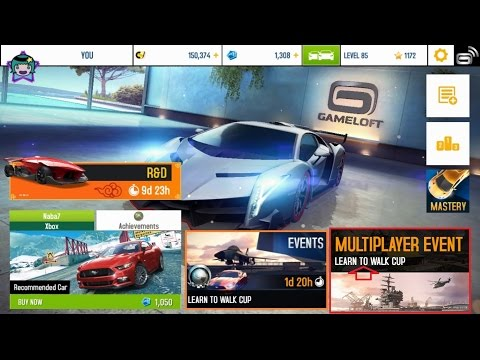 Learn to Walk in San Diego Harbor | Asphalt 8 Cup Event
