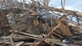 Tuscaloosa Tornado Tragedy - Devastation At Tk9 Camp