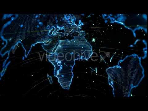 World map technology digital background motion graphics youtube world map technology digital background motion graphics gumiabroncs Image collections