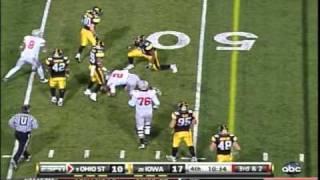 #9 Ohio State vs. #20 Iowa Football Highlights 2010