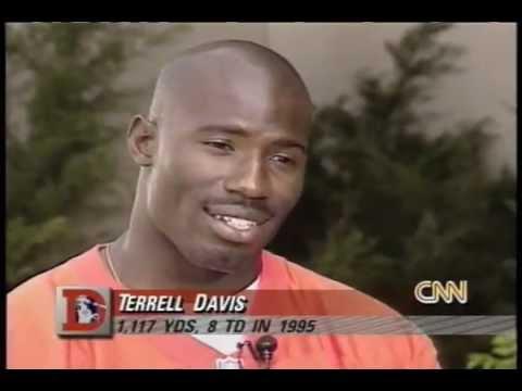 Broncos Running Back Terrell Davis